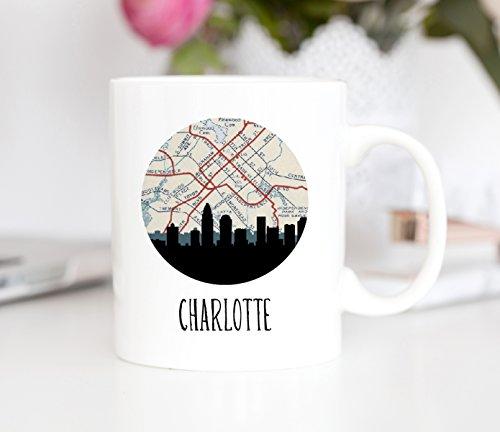 Charlotte Skyline Coffee Mug (Charlotte Flatware)