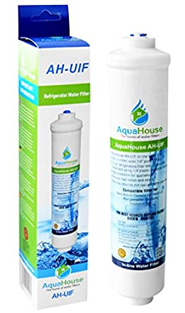 AquaHouse AH-UIF Universal Fridge Water Filter fits Samsung LG ...
