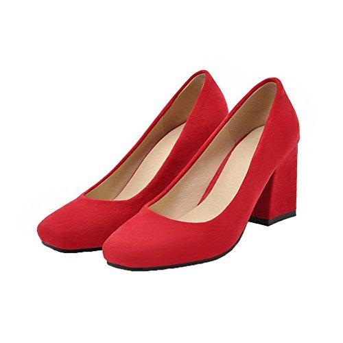 Rosso Medio Puro Tirare Donna Chiusa Ballet Tacco Moolarmi Flats Punta Luccichio 39 wHq1Yv