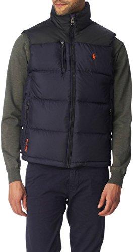 Ralph Lauren Men s Polo Core Trek Gilet Jacket Black Blue £195 (Medium)   Amazon.co.uk  Clothing 55e53ff85ea0