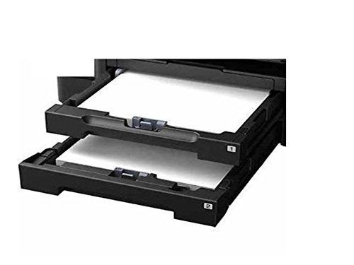 Paper Cassette Tray Set Both Upper Tray (1) & Lower Tray (2) for Epson: Workforce WF-3640, WF-3530, WF-3540, WF-3540 DTWF, WF-3640