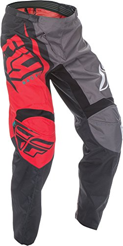 Fly Racing Unisex-Adult F-16 Pants (Red/Black/Grey, Size 30) by Fly Racing