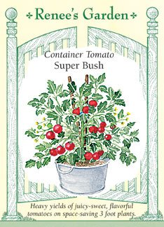 - Tomato - Container - Super Bush Seeds
