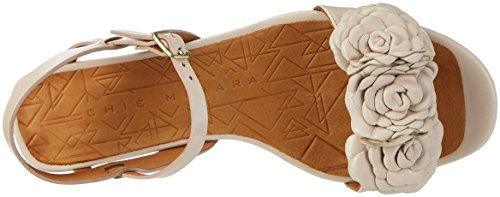 Tailu Nude Beige WoMen Chie Naha Strap Ankle Mihara Sandals 1xY80