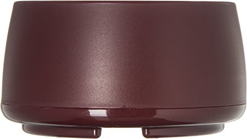 Dinex DX118561 Classic Stackable Insulated Bowls, 9 oz., 2.38'' Height, 3.75'' Width, 3.75'' Length, Urethane Foam, Cranberry (Pack of 48) by Dinex (Image #2)