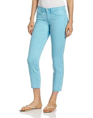 Calvin Klein Jeans Women's Petite Skinny Ankle Crop Jean