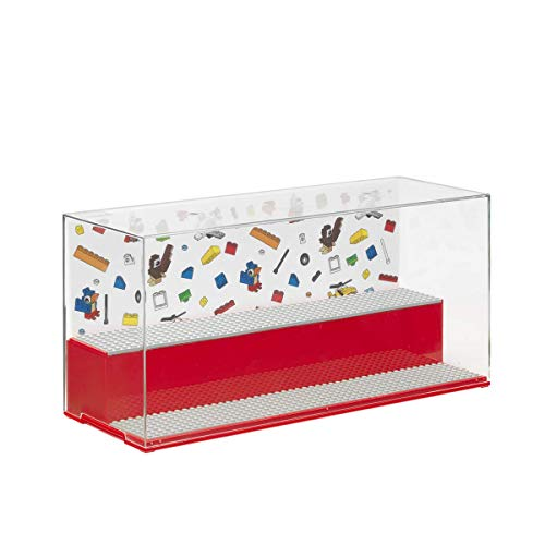 LEGO 40700001 Juego y vitrina icónico, rojo
