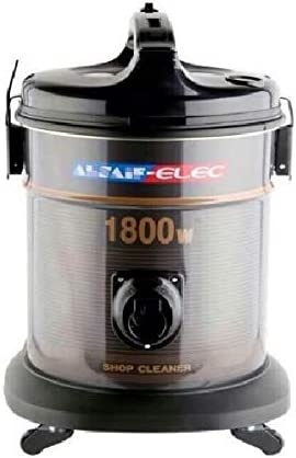 Vacuum Cleaners by Alsaif Elik 1800 Watt, 18 Liter, Black