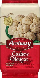 Archway nutty nougat cookies recipe