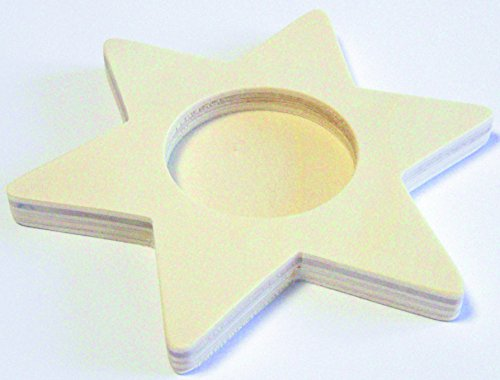 (EDUPLAY Eduplay800169 11 cm Tea Candle Star)