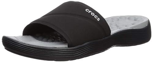 Buy crocs Women's Black Flip-Flops-3 UK
