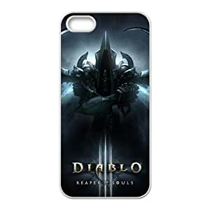 Lucky DIABLO 3 Reaper of Souls Cell For HTC One M9 Phone Case Cover
