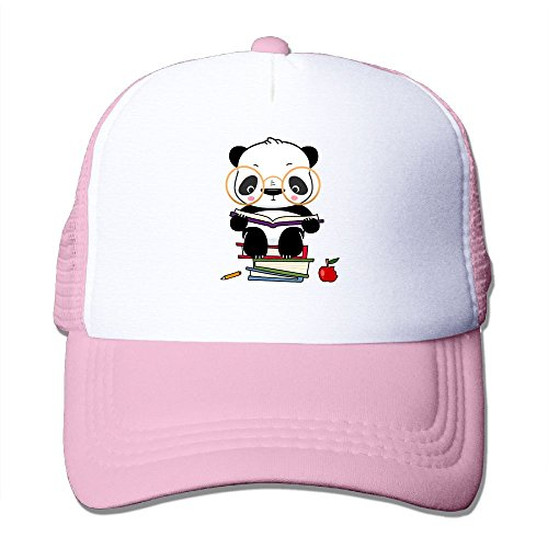 fan products of Antonia Surrey Funny Panda Bear Love Basketball Baseball Cap Trinity Cap Vintage Hat Baseball Cap Adjustable Washed Dyed Cotton Ball Hat Clean Up Adjustable Hat Pink