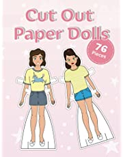 Cut out paper dolls: Fashion paper dolls for daughter or granddaughter
