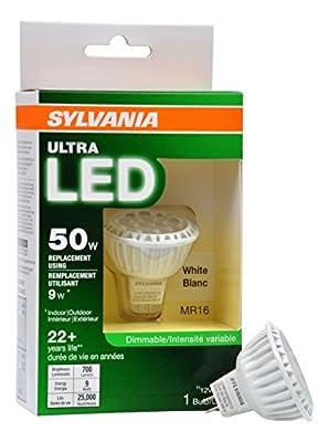 Sylvania 74043 Ultra Dimmable Led Light, 9 Watts