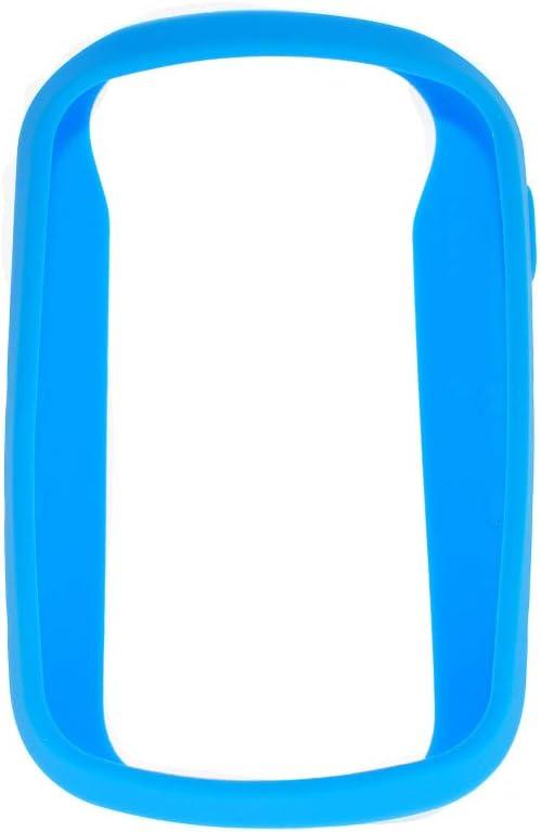 Funda protectora Durable Anti arañazos Senderismo Portátil mano GPS Navegador Accesorios para la piel Cubierta antideslizante al aire libre Silicona para Garmin ETrex Touch 35(Azul cielo)