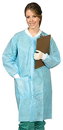 Disposable Lab Coats Small Protective Lab Coats And