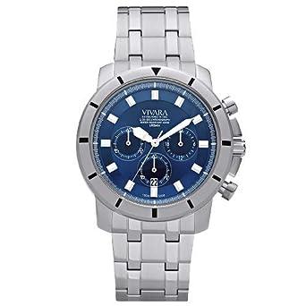 bf8600e160c Relógio Vivara Masculino Aço - DS13148R0C-1  Amazon.com.br  Amazon Moda
