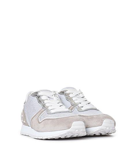 Tod's Sneakers Donna XXW0YO0P260FY60ZDT Camoscio Beige/Grigio