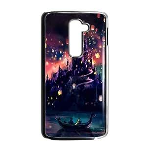 Purple Castle Beautiful Black LG G2 case