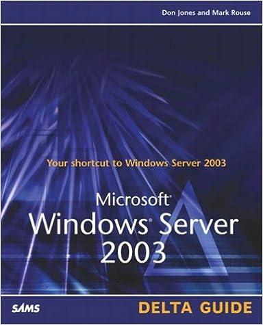 Téléchargez des livres électroniques pour kindle gratuitementMicrosoft Windows Server 2003 Delta Guide 0789728494 in French PDF DJVU FB2