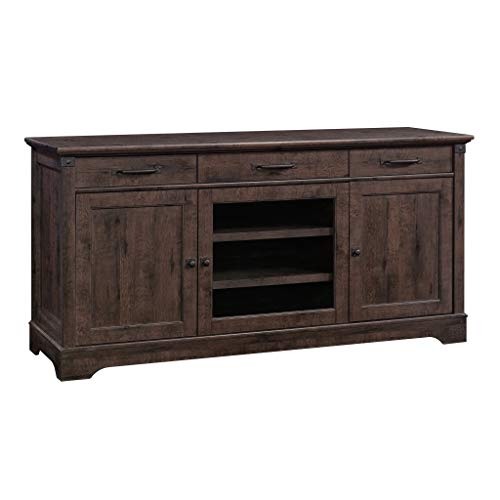 Sauder 422156 Carson Forge Credenza, Coffee Oak Finish