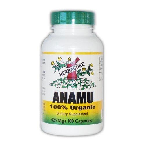 Herbacure Anamu 625mg (1250 Mg Per Serving) - 100% Organic - 100 Capsules ()