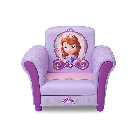 Kids, Children, Toddlers Upholstered Fabric Chair (Disney Sophia) (Bubble Guppies Fabric)