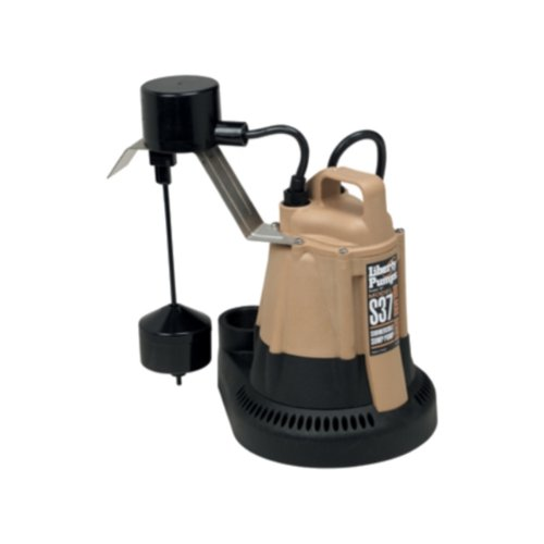 Liberty Pumps S37 1/3-Horse Power 1-1/2-Inch Discharge S30-Series Builders Series Submersible Sump Pump with Vertical Float by Liberty Pumps