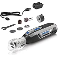Dremel PawControl Dog Nail Grinder, Clippers, and Trimmer- Safe & Humane Pet Grooming Tool Kit- Cordless & Rechargeable Claw Grooming Kit for Dogs, Cats, and Small Animals 7760-PGK