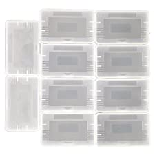 10 Pcs/Lot Clear Plastic Game Cartridge Card Box Case Cover For Game Boy GBA SP GBM