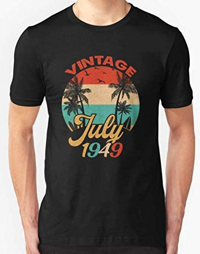 Vintage Retro 1949 Classic 70th Birthday Gift T-Shirt for Men and Women