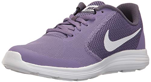 the latest 8748f cd95b Nike Girls  Revolution 3 (GS) Running Shoe, Purple Earth Dark Raisin White,  6 M US Big Kid