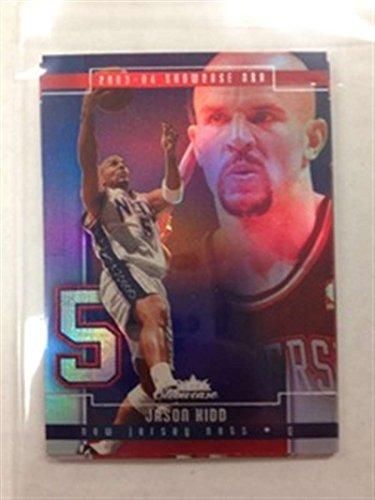 2003-04 Fleer Showcase New Jersey Nets Team Set No SP Jason Kidd 4 Cards
