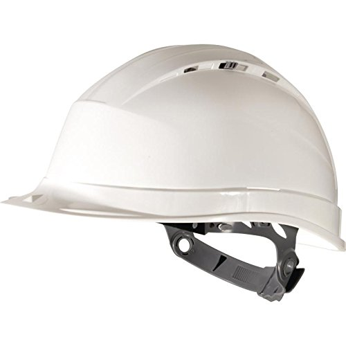 White 2 Delta Plus QUARTZ 1 Vented Safety Helmet Hard Hat Colour