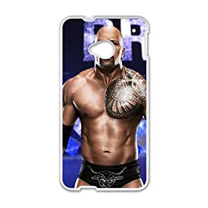 RHGGB WWE Royal Rumble Wrestling White Phone Case for HTC One M7