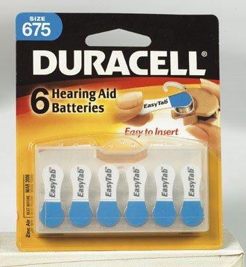 1.4v Zinc Air Battery - Duracell Zinc Air Hearing Aid Battery 1.4 V Model Da 675 Pack 6