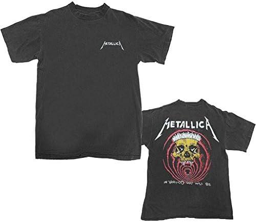 Metallica Vertigo Vintage Hombre Black Camiseta: Amazon.es: Ropa y accesorios