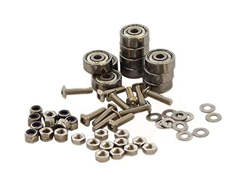 MakerBeam Bearings, Bolts and (self Locking) Nuts (Pack of 10)