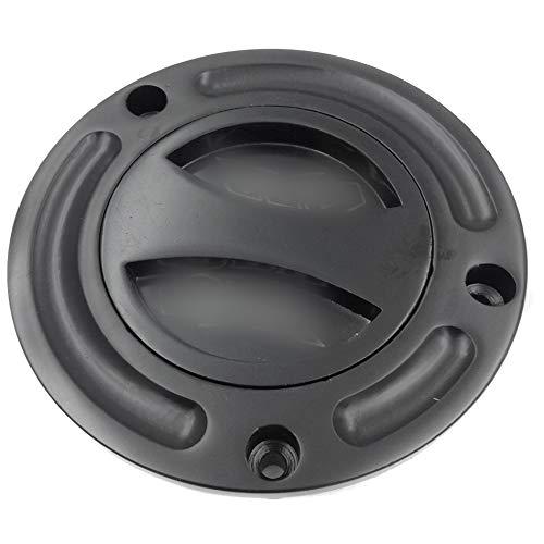 NBX- Black Keyless Gas Cap Twist Off Fuel Tank Cap For Compatible with Honda CBR 600 F2/F3/F4/F4i/ 600RR/ 900RR/929RR/954RR/1000RR/RVF 400