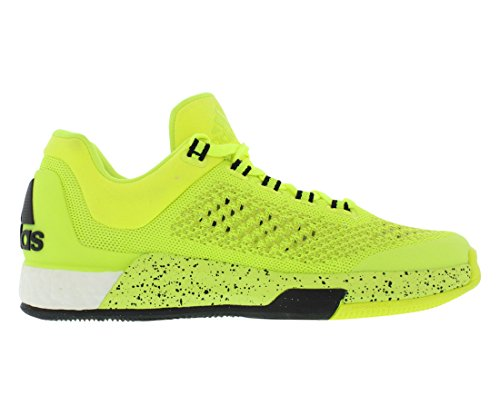 Adidas Performance Mens 2015 Crazylight Boost Primeknit Scarpa Solare Giallo / Giallo Solare