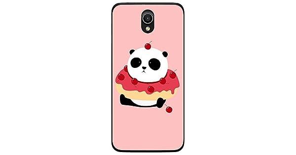 Amazon.com: Silicone Case Panda Donut Asus Zenfone Go ...