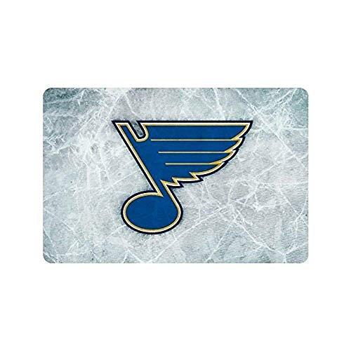 (Shirt Home St Louis Blues National Hockey League Door Mat Decorative Door Mat Machine Washable Door Mats Indoor Outdoor House Doormat L x W Non-Woven Fabric Non Slip 23.6(L) x 15.7(W))