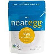 neat - Plant-Based - Egg Mix (4.5 oz.) - Non-GMO, Gluten-Free, Soy Free, Egg Substitute Mix