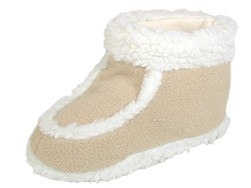 Star Bay Children's Terry Shoes Lined with Faux Fur 8704 , B
