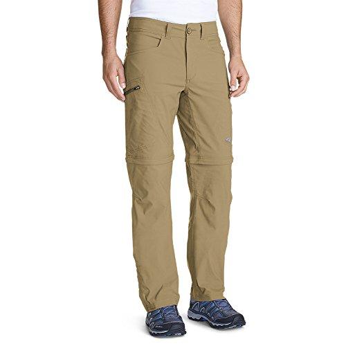 Eddie Bauer Men's Guide Pro Convertible Pants, Saddle Regular 34/32