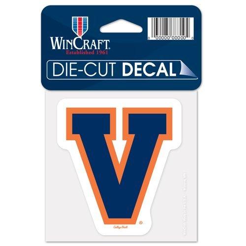 Virginia University of //College Vault vault Perfect Cut Color Decal 4 x 4