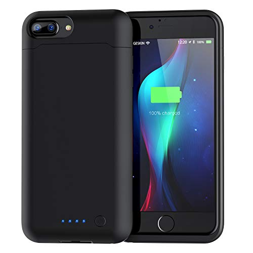 Battery Case for iPhone 6 Plus 7 Plus 8 Plus, 8500mAh Protective Charging Case for iPhone 6 Plus / 7 Plus / 8 Plus 5.5