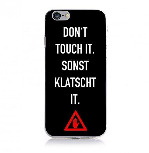 YW&F Don't touch DEIN Schutzhülle für Apple iPhone 6 Plus