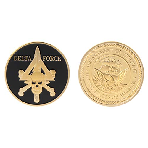 Roboco Commemorative Coin Delta Force American Army Team Collection Arts Gifts Souvenir US Mint